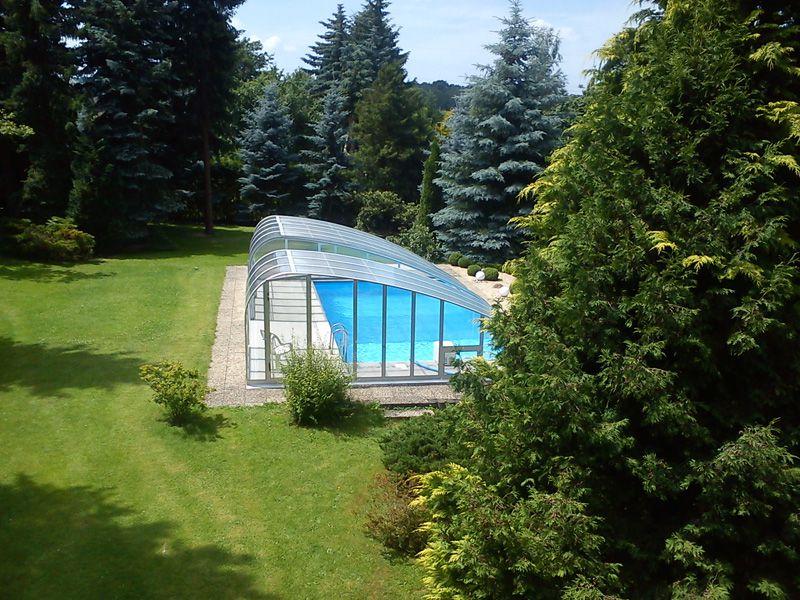 Eigene Arbeiten - Pool aus Styropor-Schalsteinen mit Classicline C5