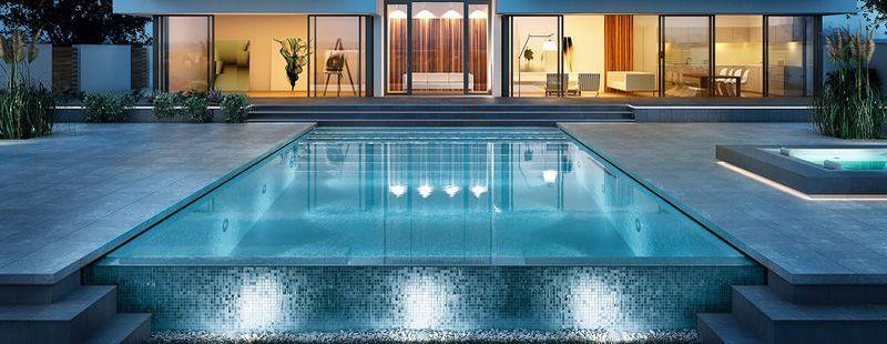 Poolbau Chemnitz | Schwimmbadbau, Überdachung